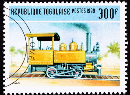 kingston: Small and early design railroad steam engine locomotive.   Used by the United Fruit Company, in Kingston, Jamaica.  Made by H.K. Porter Stock Photo