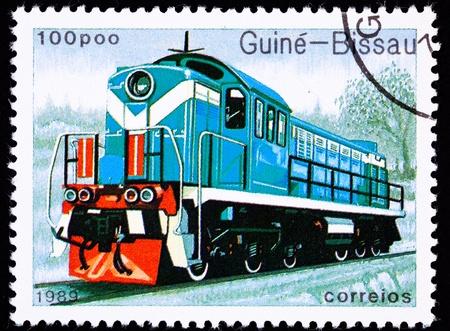 perforated: Diesel locomotive