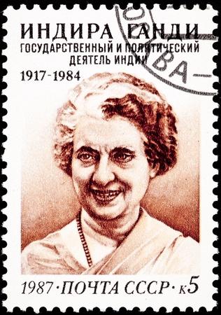 prime adult: Indira Gandhi, first female prime minister of India.