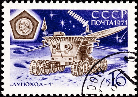 Lunokhod landed on the Moon November 17, 1970 and operated for 322 days sending back pictures and soil analysis of the Moon.