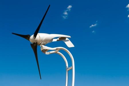 Small home sized windmill. Stock fotó