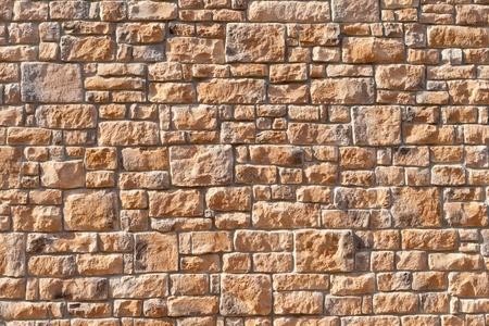 Stenen muur Stockfoto