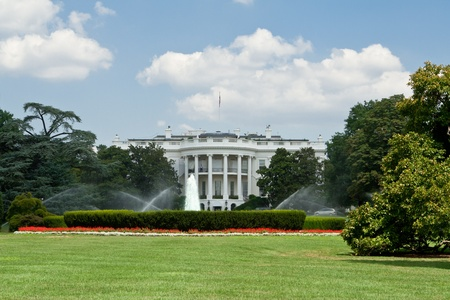 South lawn of the White House. Stock Photo - 10961362