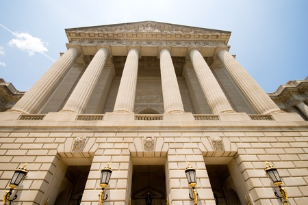 Mellon Auditorium, at the Environmental Protection Agency building in downtown Washington, DC, Unite States.