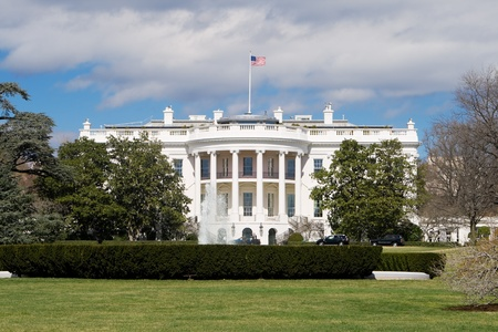 neo classical: White House South Lawn