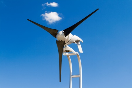 Small home sized windmill. photo
