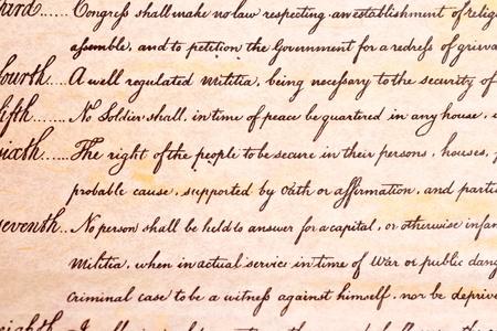 amendment: 4 � Enmienda que protege a los ciudadanos de EE.UU. del gobierno de EE.UU. busca a ellos ya sus bienes sin una orden judicial.