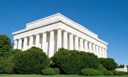 Outside of the Lincoln Memorial, Washington, DC, United States photo