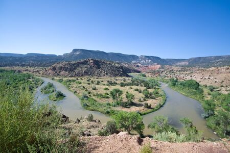 Rio Chama River Jemez Mountains North Central New Mexico Stock Photo - 11397492