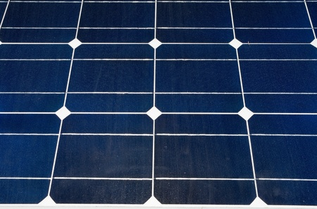 pv: Close up of photovoltaic (PV) solar panel. Stock Photo