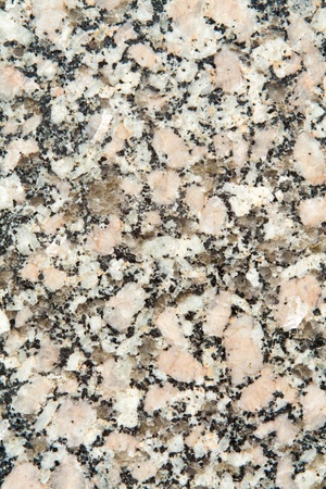 mineralization: Full frame close up black and white granite surface Stock Photo