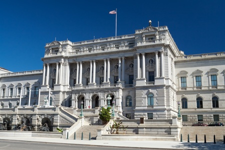 Library of Congress Washington DC done in a Beaux-Arts Architectural style in Washington, DC. Stock Photo - 11379532