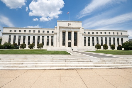 Art Deco style Federal Reserve Building in Washington, DC.