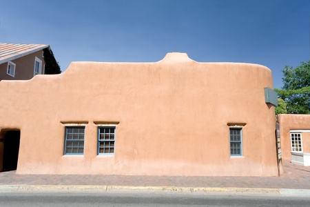 Adobe Home in Santa Fe, New Mexico