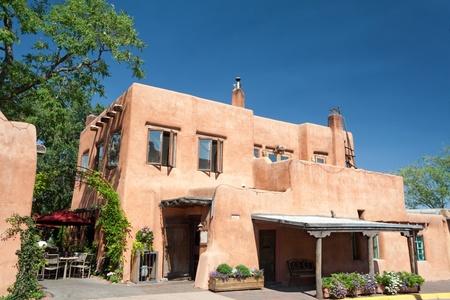 Modern Restaurant in Santa Fe, New Mexico.