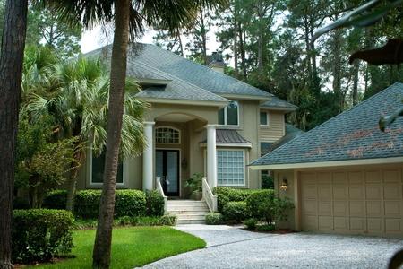 detached: Upscale single family house on Head Island, South Carolina.