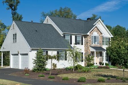 casa colonial: Nueva Casa Casa suburbios de Filadelfia