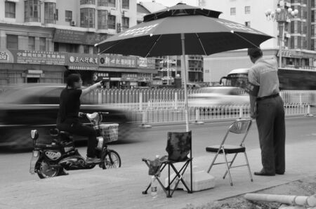 public welfare: Street scene