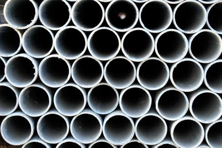 steel industry: Steel pipe, heavy industry, close-up images