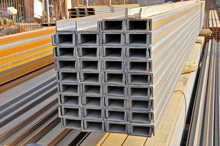 Background in heavy industry, high carbon alloy tube  photo