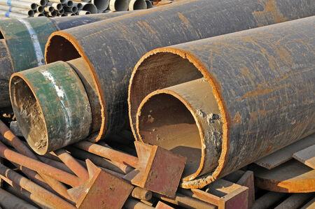 steel industry: Steel pipe, heavy industry