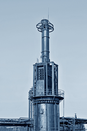 Steel industrial equipment photo