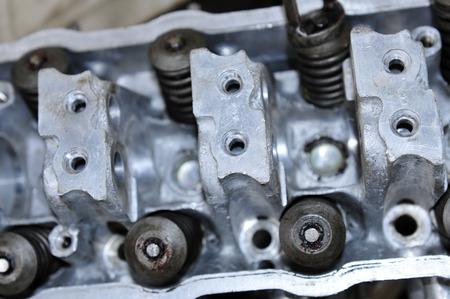 The car engine parts Reklamní fotografie