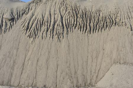 The desert sand texture