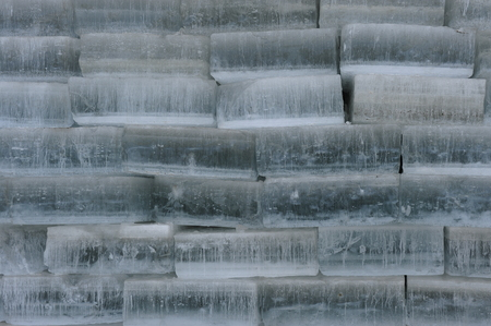 ices: a pile of ices