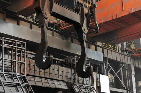 crucible: Smelting of metal casting, steel Editorial