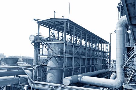illustrate: Industrial zone of steel pipe