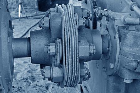 machinery: machinery close-up Stock Photo