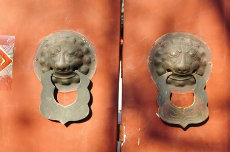 knocker: Knocker nails with