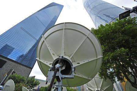 receiver: Satellite antenna receiver
