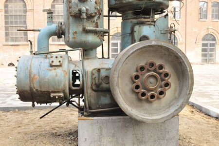 industrial machinery: The old machinery and equipment