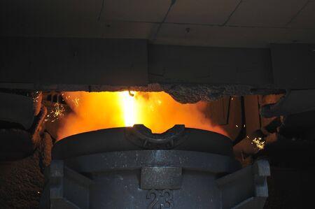 converter: Steelmaking converter steel slag in the factory