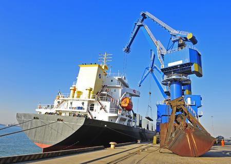 The port crane 報道画像