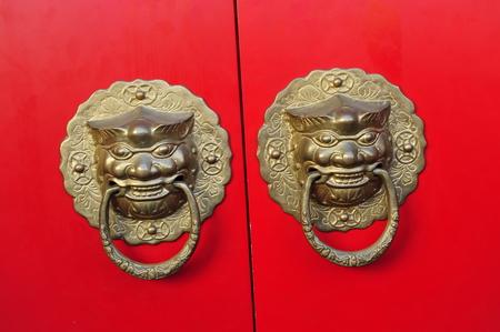 door knocker: Ancient chinese door knocker