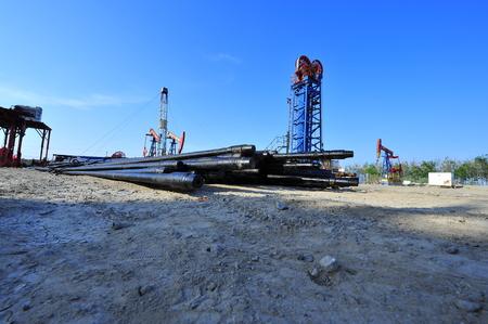 PUMPER: The oil pump Stock Photo