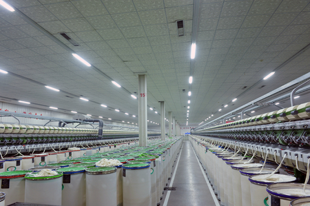spinning factory: Coarse cotton factory in spinning production line