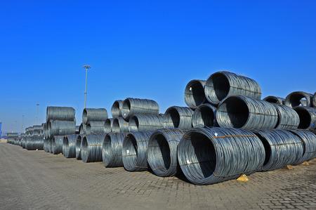 steel: steel fittings Stock Photo