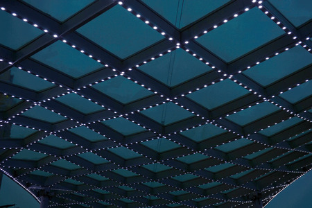 Geometric construction of steel structure