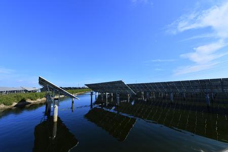 Solar power equipment Imagens