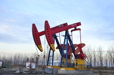 oil and gas industry: Oil Pump Editorial