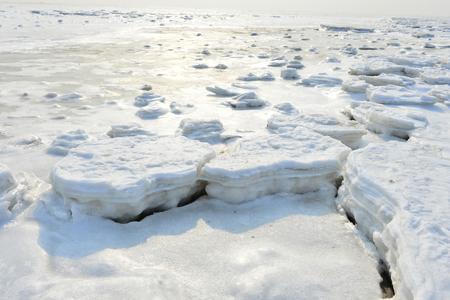Snow ground during winter