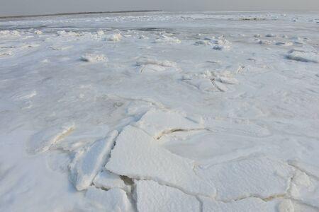 winter sea ice