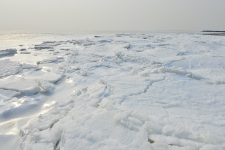 winter sea ice