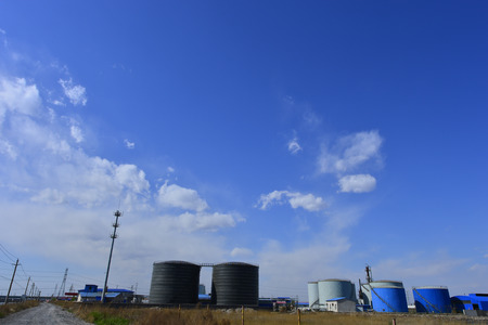 The oil tank