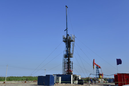 Oil drilling rig