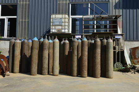 Industrial oxygen tubes Redakční